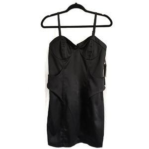 XOXO Black Dress Size 11/12 NWT